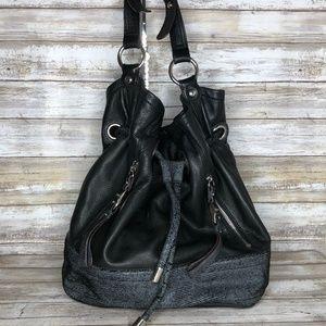 B Makowsky Soft Buttery Leather Shoulder Bag
